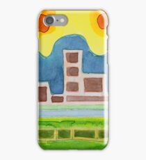 Surreal Simplified Cityscape  iPhone Case/Skin
