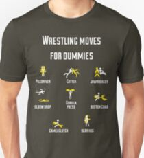 wrestling moves V2 Unisex T-Shirt