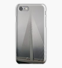 The Millau Viaduct in France iPhone Case/Skin