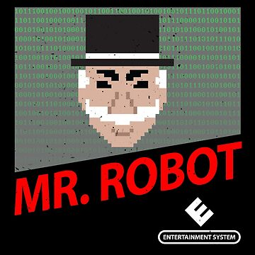 Mr. Robot NES Cover by gusdynamite
