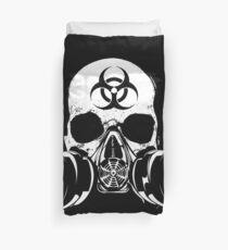 Biohazard Zombie Skull Duvet Cover