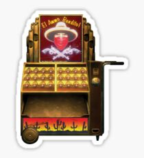 BioShock – El Ammo Bandito Vending Machine Sticker