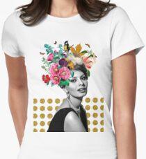 SOPHIA LOREN Women's Fitted T-Shirt