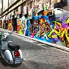 Hosier Lane Graffiti by Roz McQuillan