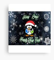 Merry Linux Canvas Print