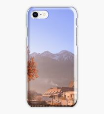 Autumn in Tyrol, Telfs, Austria iPhone Case/Skin