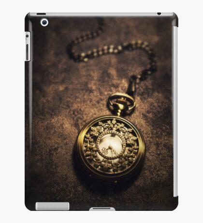 Ornamented pocket watch iPad Case/Skin