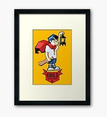 Boy Adventurer Framed Print