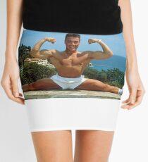 Jean Claude Van Damme Splits Mini Skirt