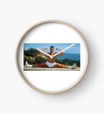 Jean Claude Van Damme Splits Clock