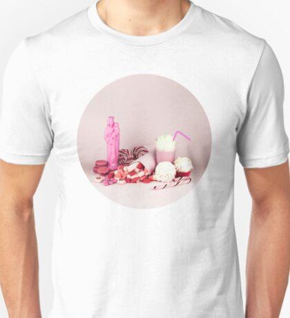 Süßes rosa Schicksalleben noch T-Shirt