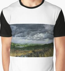 Green and Pleasant Graphic T-Shirt