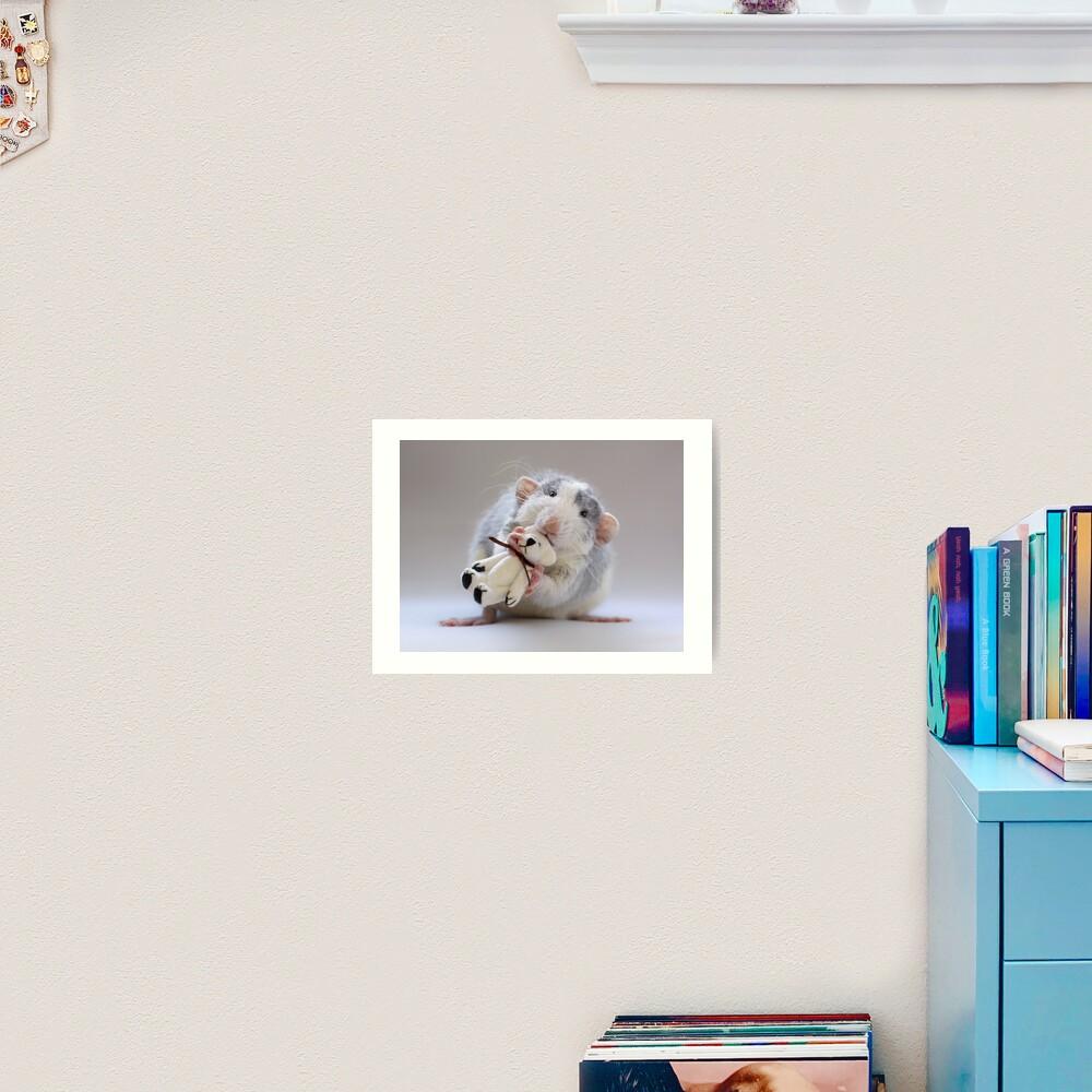 My bear :) Art Print