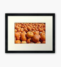 Pumpkin King Framed Print