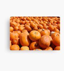Pumpkin King Canvas Print