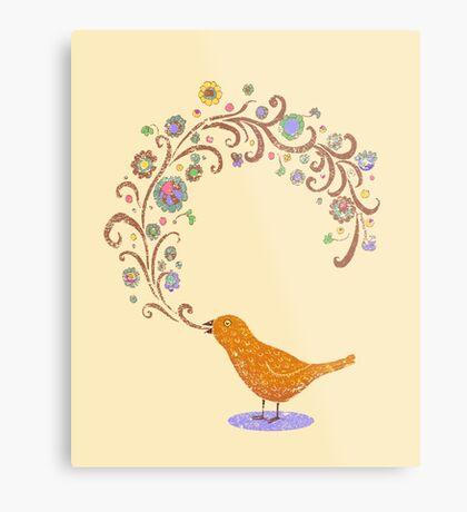 Birdsong Metal Print