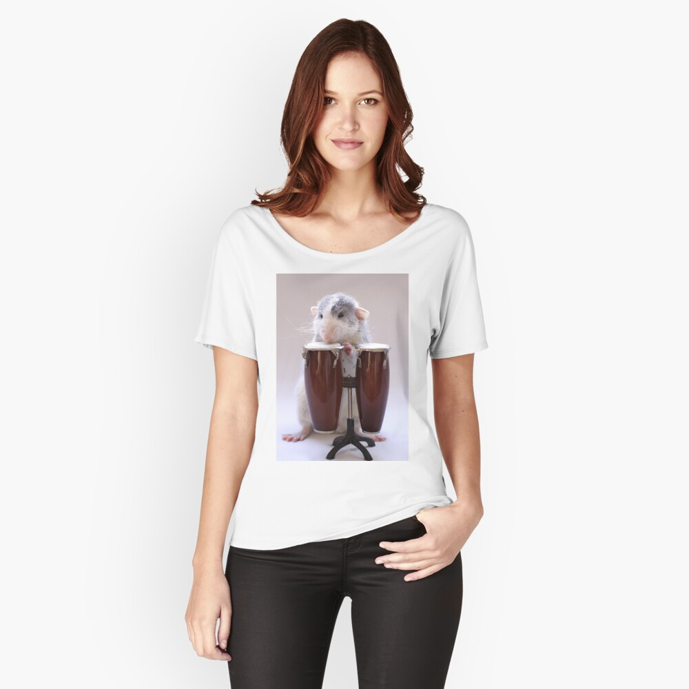 The percussionist :) Women's Relaxed Fit T-Shirt Front