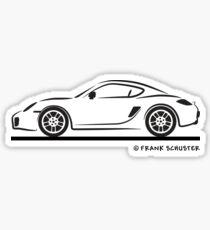 Porsche Cayman 987 Sticker