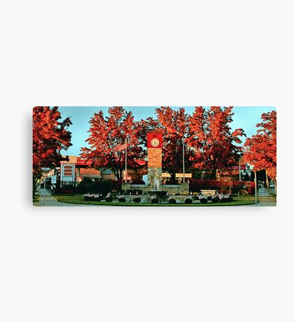 Detwiller Plaza Canvas Print
