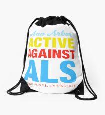 Ann Arbor Active Against ALS Drawstring Bag