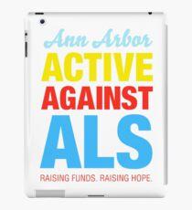 Ann Arbor Active Against ALS iPad Case/Skin