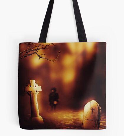 Halloween Shadows Tote Bag