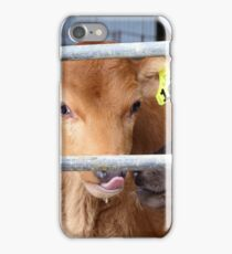 That Was Yummy - Calf Rearing NZ iPhone Case/Skin