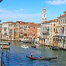 The Grand Canal, Venice by Sue Leonard