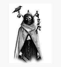 Tarot - Justice Photographic Print
