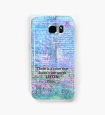 Inspirational Quote by Rumi  Samsung Galaxy Case/Skin