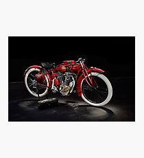 Indian 8-Valve Racer Photographic Print