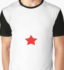 Red Star Graphic T-Shirt