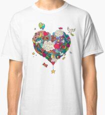 Love Doodle Classic T-Shirt