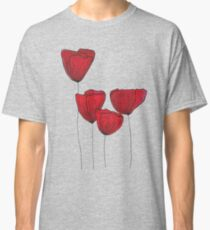 Red red love Classic T-Shirt