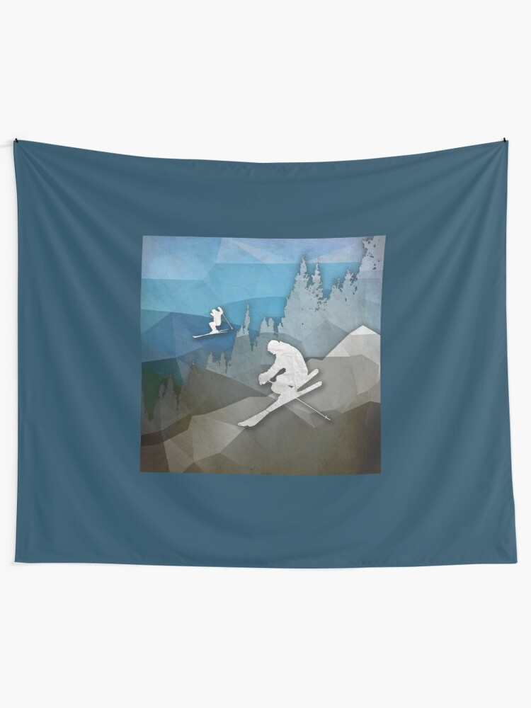 Alternate view of The Skiers Tapestry