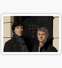 """221B"" Sticker"