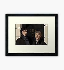 """""""221B"""" Framed Print"""