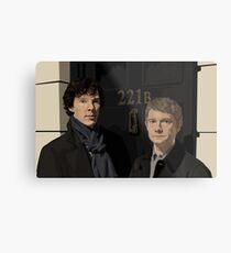 """221B"" Metal Print"