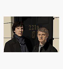 """221B"" Photographic Print"