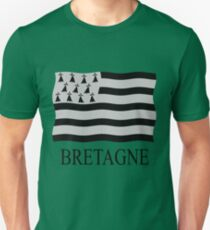 Brittany flag Unisex T-Shirt