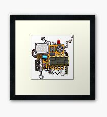 Machine Framed Print