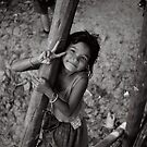 Little girl in cambodia by Ajmdc