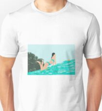 Yellow surf Unisex T-Shirt