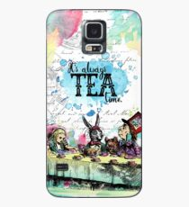 Alice in Wonderland - Tea Time Case/Skin for Samsung Galaxy