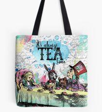 Alice in Wonderland - Tea Time Tote Bag