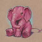 Another Pink Elephant (they're everywhere!) by justteejay