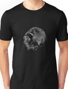 Human Skull Vintage Illustration Unisex T-Shirt