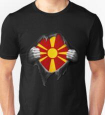 Macedonia Flag. Proud Macedonian T-Shirt