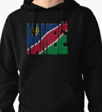 Namibia flag Pullover Hoodie