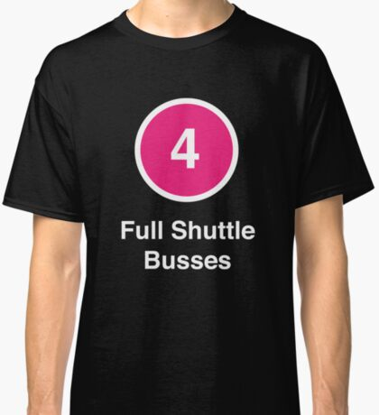 Full Shuttle Busses Classic T-Shirt
